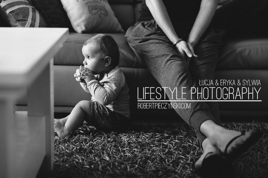 Modern lifestyle family photography